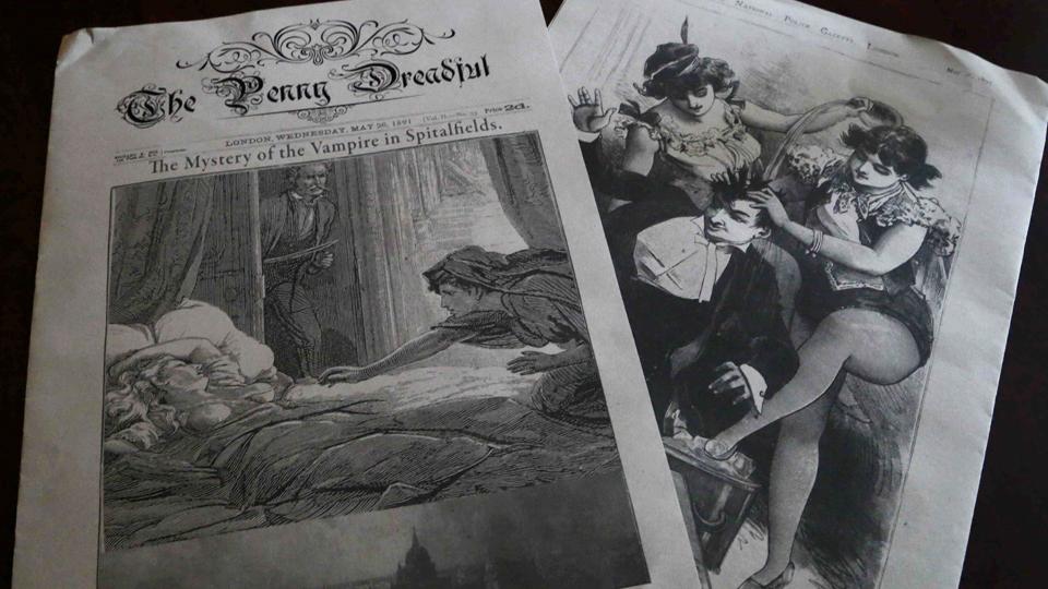 Penny dreadfuls-Penny bloods: Τα βιβλία τρόμου των Βικτωριανών
