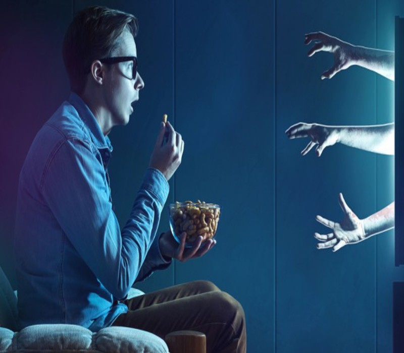 Οι ταινίες τρόμου κάνουν καλό στην υγεία