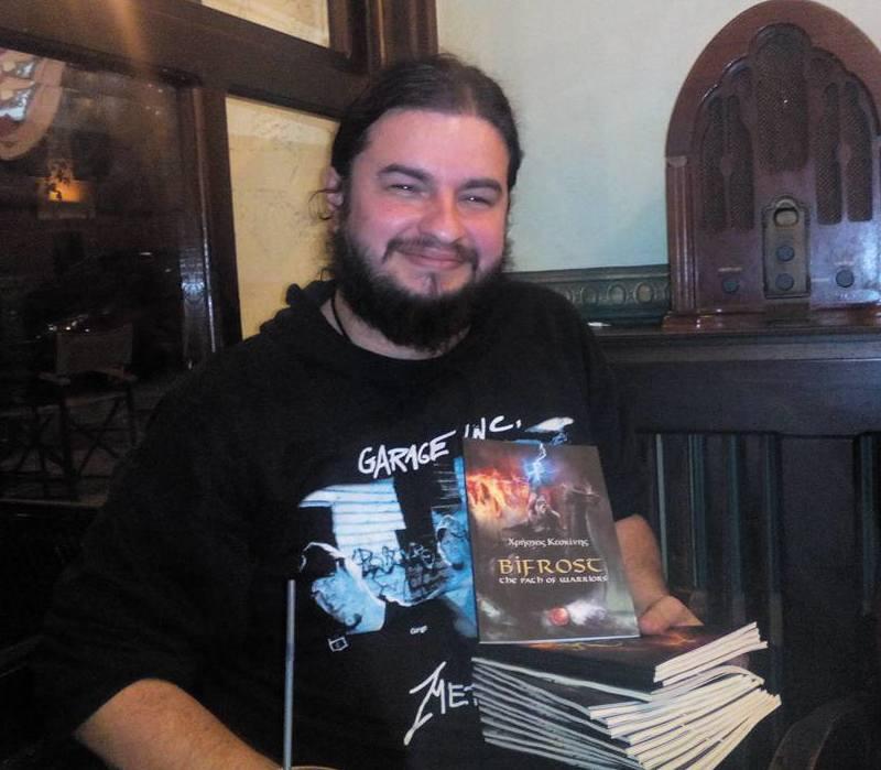 Συνέντευξη με τον Χρήστο Κεσκίνη, συγγραφέα του βιβλίου επικής φαντασίας «Bifrost»