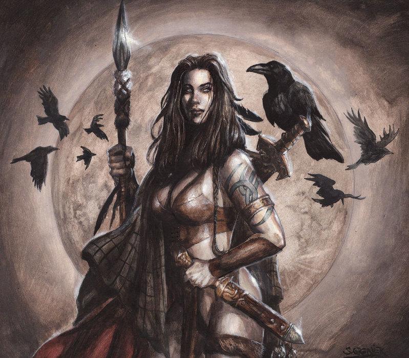 Morrigan, η Σκοτεινή θεά