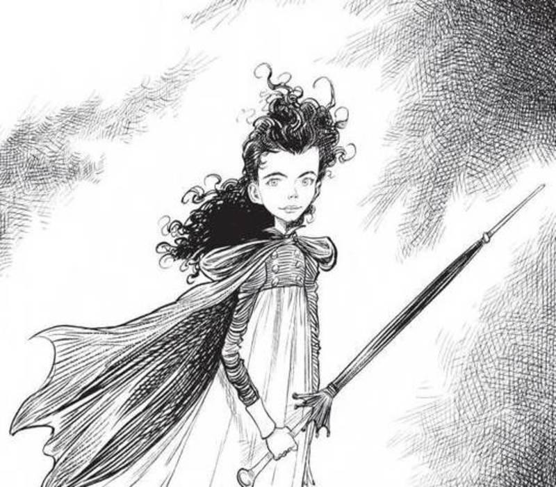 «Goth Girl Series» του Chris Riddell
