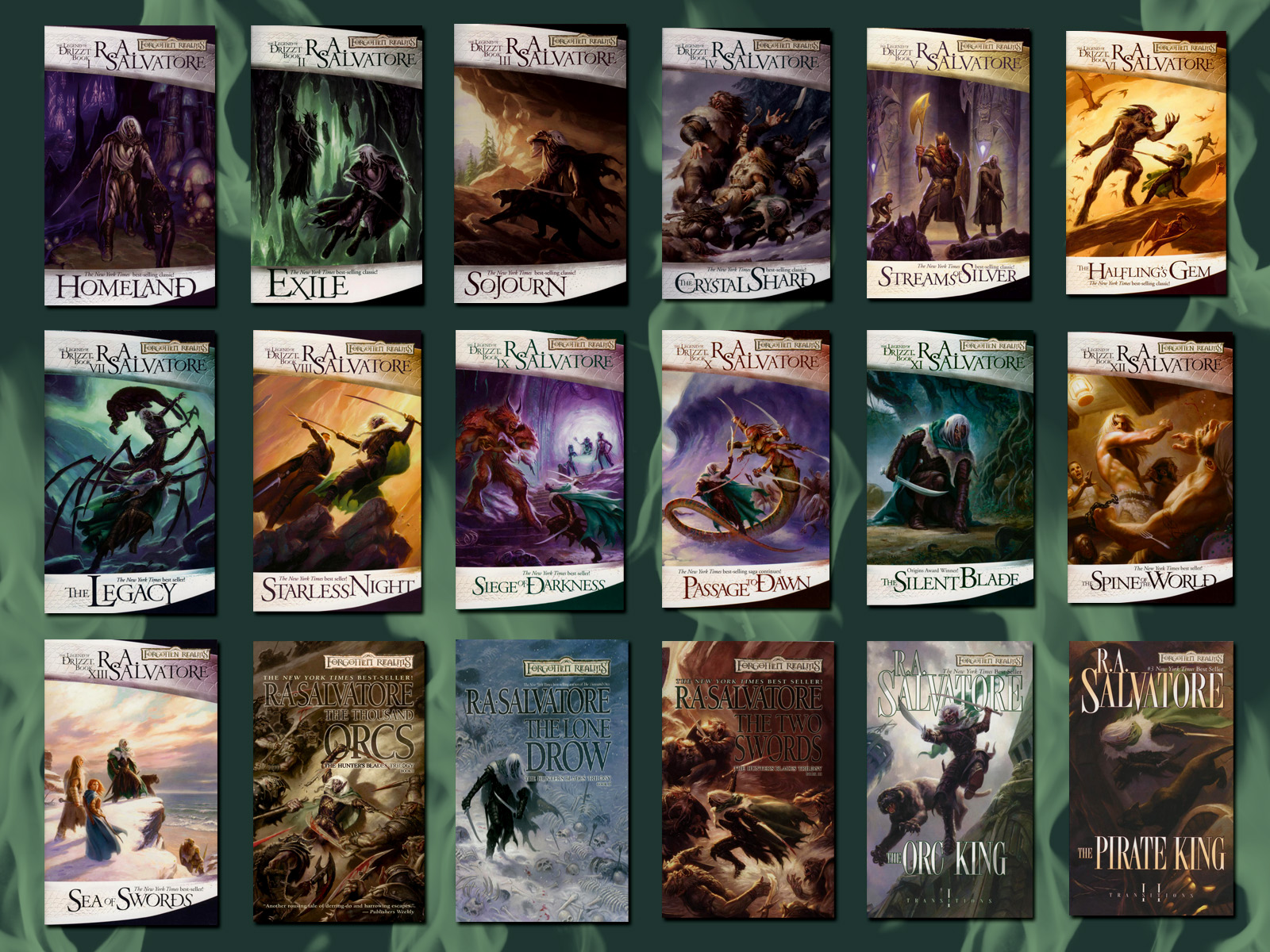 Interview with Drizzt's creator, R  A  Salvatore   Nyctophilia