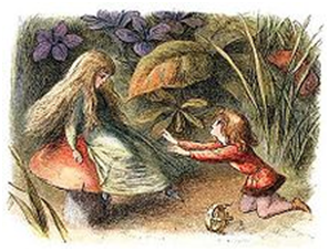 """""""Τhe prince thanking the water Sprite"""" from the """"Princess Nobody:  A tale of Fairyland"""" (1884) by Andrew Lang."""
