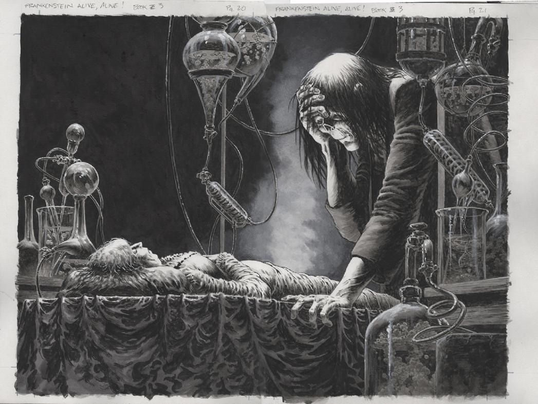 «Frankenstein» του Bernie Wrightson