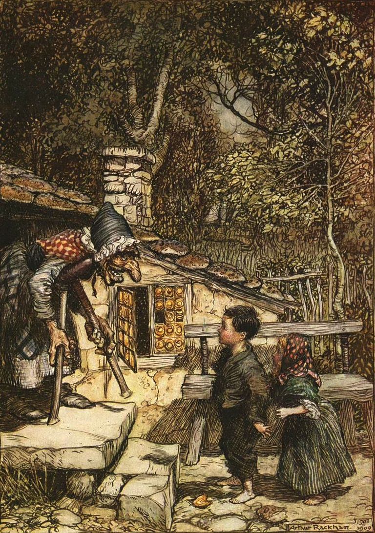 Illustration by Arthur Rackham, 1909