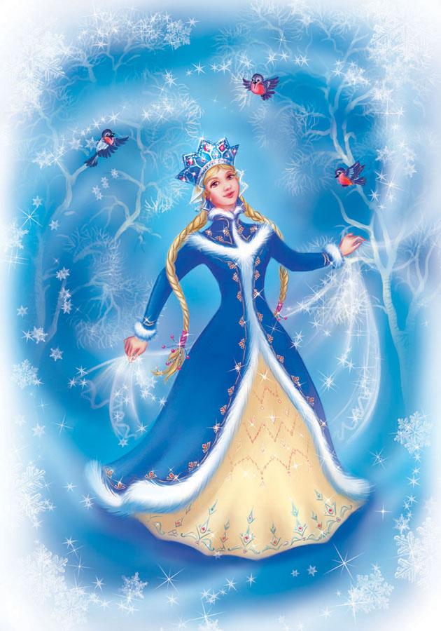 Snow Girl by OlesyaGavr  https://www.deviantart.com/olesyagavr/art/Snowgirl-141715127
